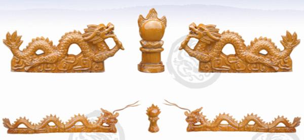 琉璃瓦-二龙戏珠
