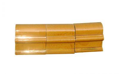琉璃瓦:筒脊